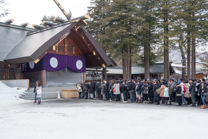 初詣に適した北海道神宮のレビュー・感想